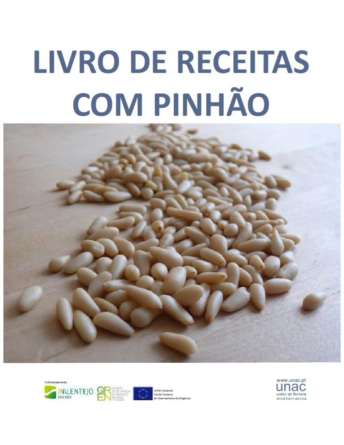 Livro de Receitas com Pinhão