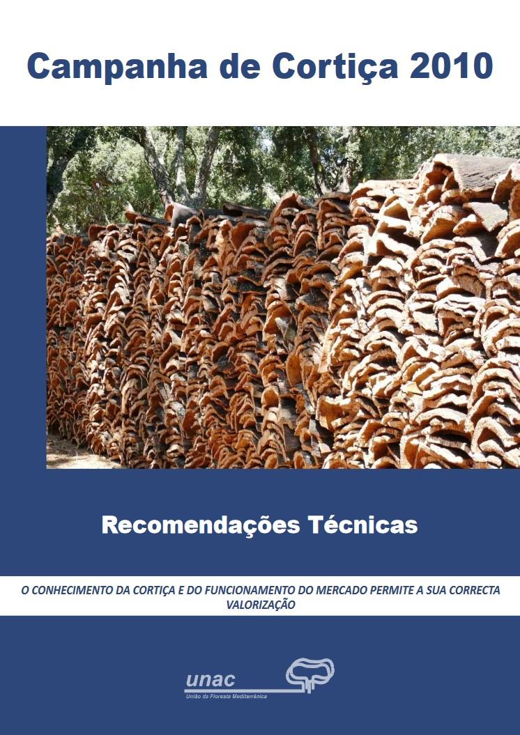 Recomendações Técnicas - Campanha de Cortiça 2010