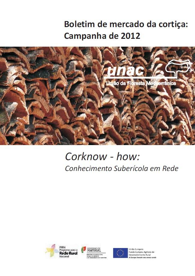 Boletim de mercado da cortiça - Campanha de 2012